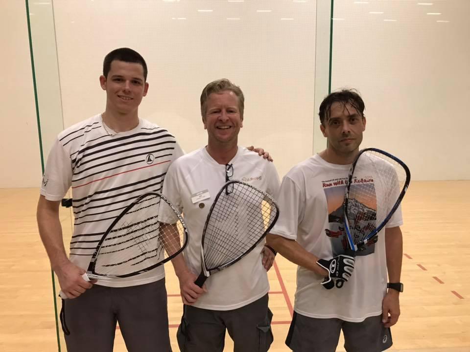 A Finalists - Jeff Hald Lucas Tettamente Racquetball