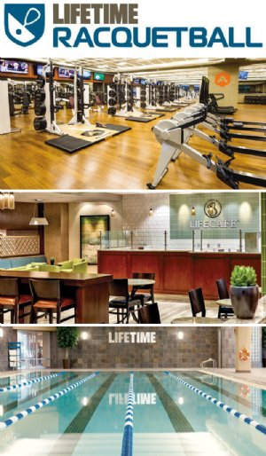 LifeTime Fitness Racquetball
