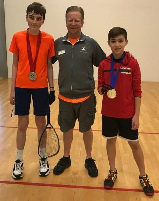 Under 14 Miller Roberts Jasper Munden Racquetball