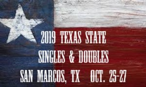 2019 Texas State Singles And Doubles Racquetball Tournament
