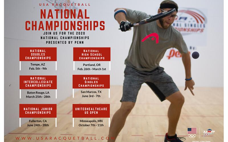 2020 USA Racquetball Championships