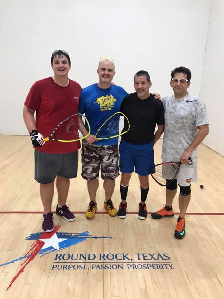 Open Doubles Racquetball Tournament