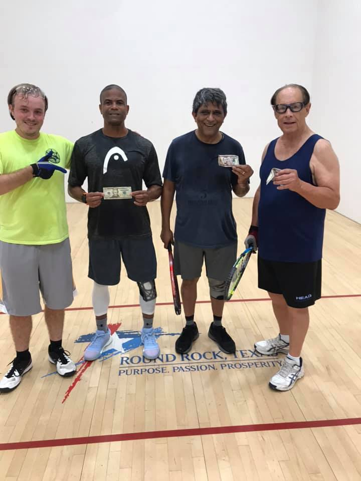 BC Racquetball Doubles Tournament