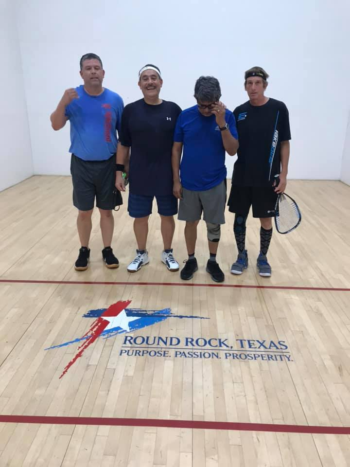 A Doubles Racquetball Tournament