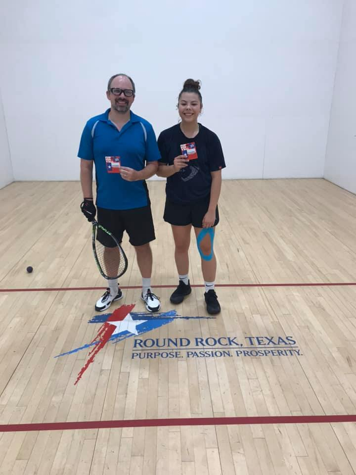 A division racquetball tournament
