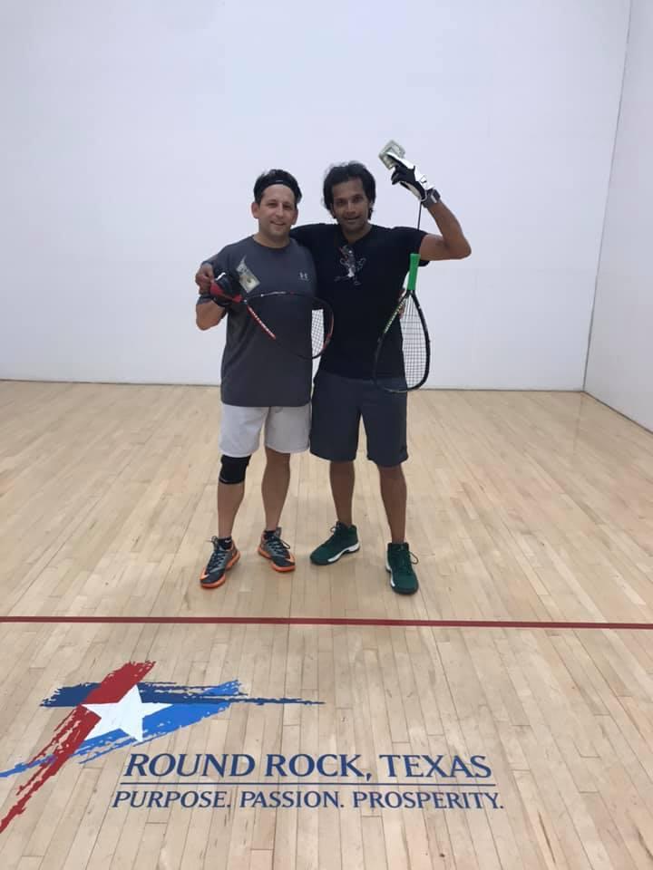Open Racquetball Tournament Finalists
