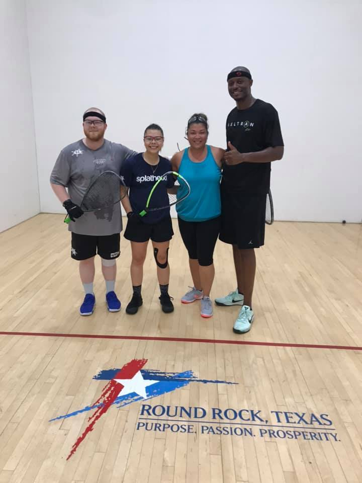 Mixed Doubles Racquetball Tournament